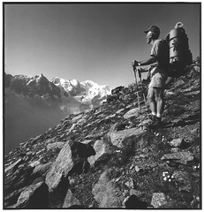 On the GR5 (Yannick Michel) Tags: hp5 montblanc biogon gr5 brvent hasselbladswc carrfranais