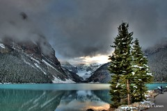 Lake Louise (Andrew E. Larsen) Tags: canada mountains landscape scenic best banff potential canadianrockies papalars a3b andrewelarsen