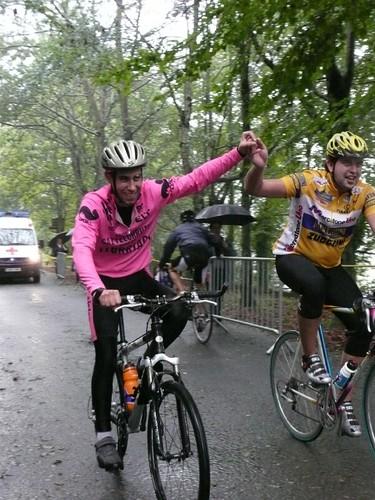 Subida en bicicleta a San Pedro 2009. Fotos