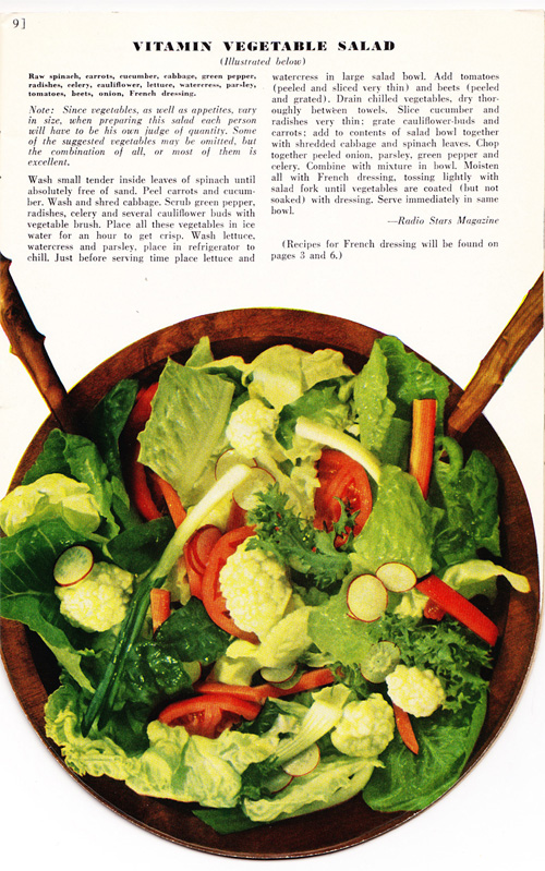 Vitamin Vegetable Salad