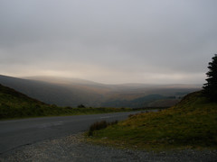 Autumny evening on Wicklow Mountains