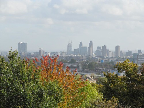 Hampstead Heath City from Parliament Hill 2655