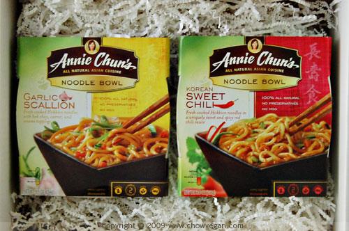 VeganMoFo: Annie Chun's Noodle Bowls