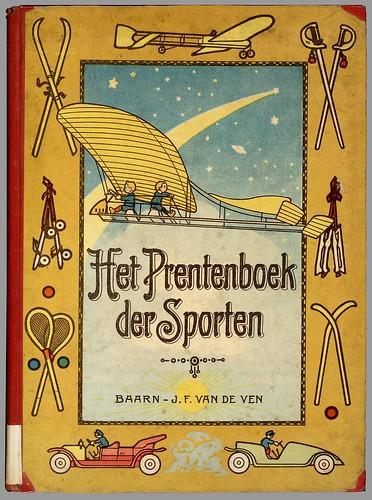Het prentenboek der sporten by Yvonne, 1912