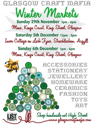 Winter Markets flyer