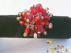 anillo colgante rojo (Tristana Artesania) Tags: anillos