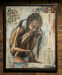 Herakut (Romany WG) Tags: show street urban art graffiti rj rushmore shoreditch thethousands herakut vandalog