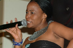 DSCF6231 Sasa at club Afrique (photographer695) Tags: world music singer sasa ethnic cultural zulu southafrican clubafrique