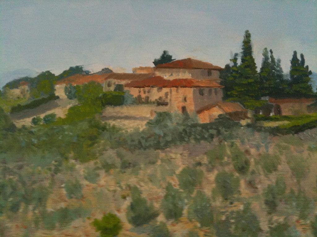 villa l olmo landscape detail