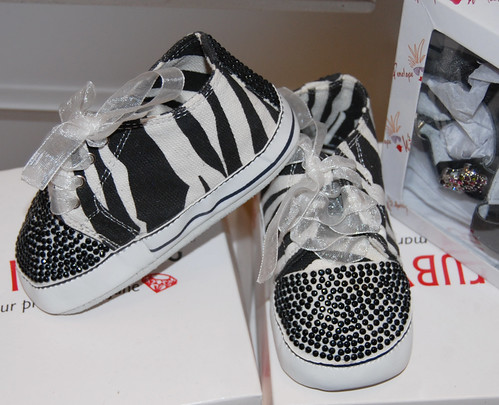 Urban Kidz zebra print toddler shoes