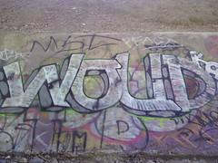 woud (graffiti oakland) Tags: wood graffiti oakland mbt kod woud wbf