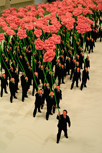 People holding flowers (detail) 2007 | Flickr - Photo Sharing!