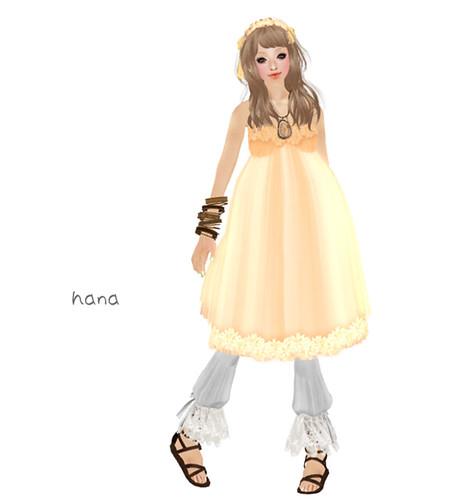 *MiuMin* LB Flower Dress