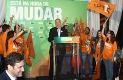 Pedro Passos Coelho Jantar Comício em Évora