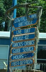 Low Falls Sign