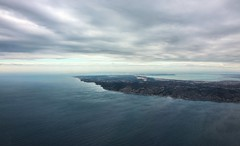 Flying over Provence (Andy.Gocher) Tags: andygocher canon100d canon1018mm europe france marseille provence clouds water landscape land horizon flying windowseat aeroplaneseat aerial