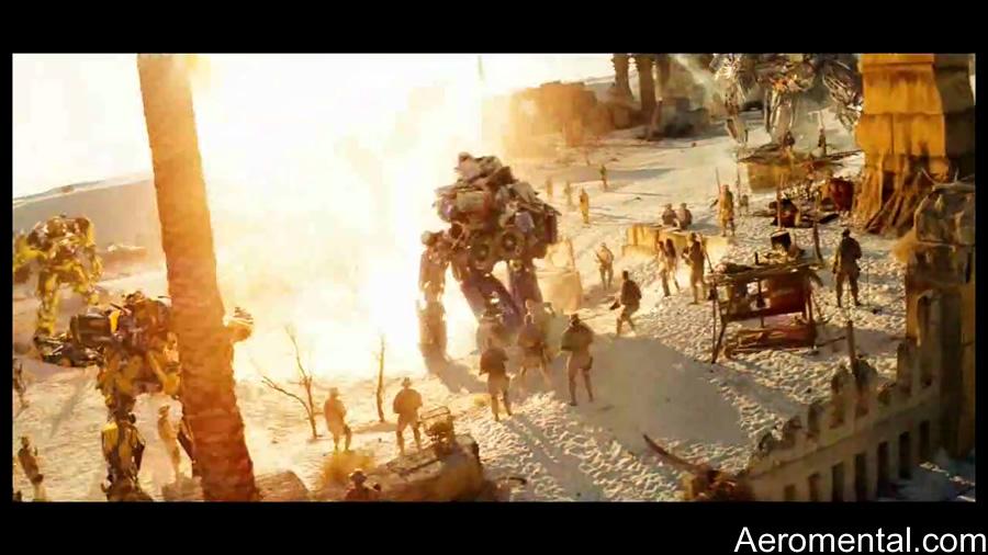 Egipto  Transformers 2 the fallen