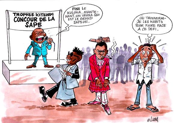 La Sape, véritable phénomène de société dans la capitale congolaise