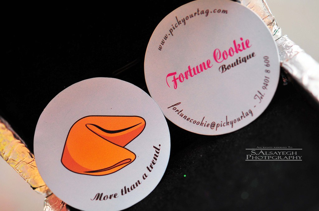 Fortune Cookie (Business Cards)