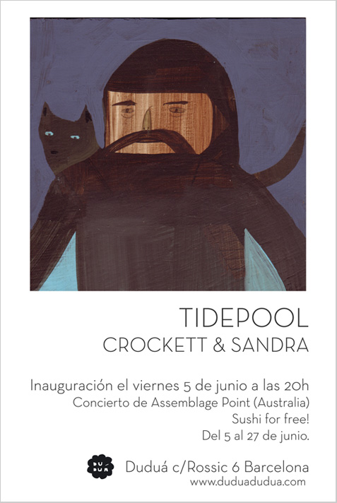 Tidepool, an exhibition by Crocket Bodelson & Sandra Wang