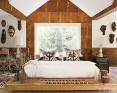 elle decor african bedroom (AphroChic) Tags: interiordesign elledecor designmagazine