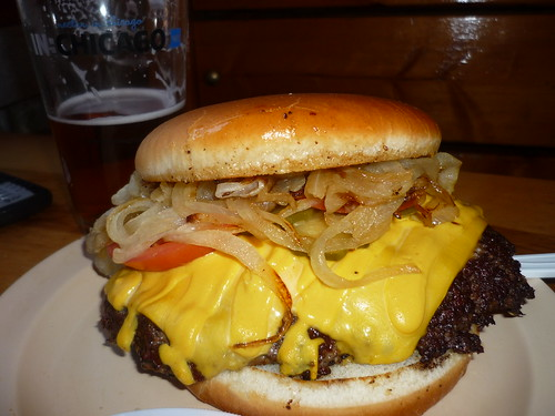 Illinois Bar & Grill: a Chicago institution (Regular cheeseburger 3/4 lb) by Chi Burger Boy aka chibbqking.
