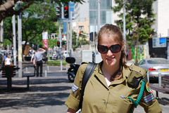 Mami Came To Visit Me At Work Today (Or Hiltch) Tags: soldier israel telaviv moran idf orhiltch