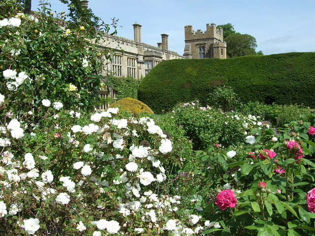 Queens Garden  at Sudeley Castle