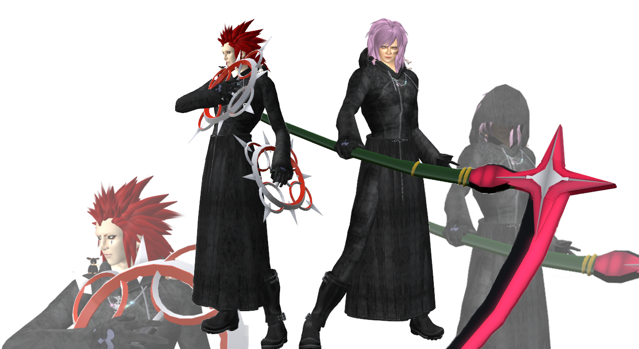 Axel & Marluxia
