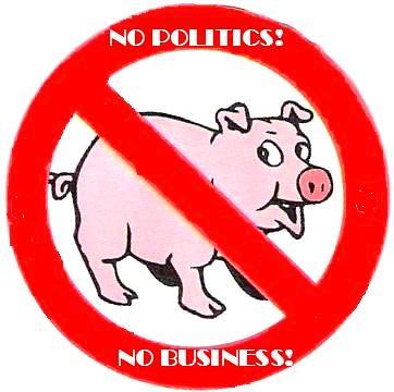 interzis porcilor in politica si afaceri! by ioanvickdrag