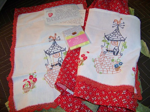 vintage apron package