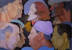 Stella, Joseph (1877-1946) - 1940 Heads (RasMarley) Tags: portrait 1940 1940s american painter heads groupportrait 20thcentury postimpressionism josephstella