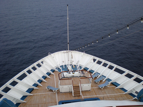 Carnival Elation - The Bow
