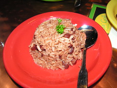 Ja' Grill - Rice and Peas