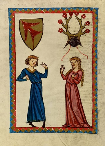 014 - Henrych II von Stretlingen-Codex Manesse