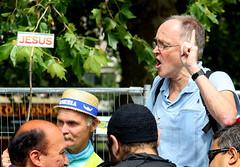 Hyde Park - Speakers Corner Pointer (Paul Rudderow- Jersey Shooter) Tags: uk london jesus hydepark 2009 speakerscorner june21 flickrchallengegroup rudderow dilojun09