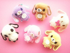 Kawaii Sugarbunnies Pom-Pom Mini Mascot Craft Supplies Japan (Kawaii Japan) Tags: pink cute rabbit bunny bunnies smile animals japan asian toy happy japanese diy doll soft pretty crafts character small mini plush sanrio mascot collection plushies softie commercial tiny stuff kawaii projects supplies puffy ideas collectibles crafting doityourself supply craftsupplies pompom sugarbunnies cawaii sanriocharacter