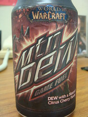 Mountain Dew Game Fuel Horde Red