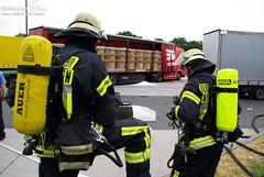 Gefahrguteinsatz Rasthof Medenbach 05.07.09