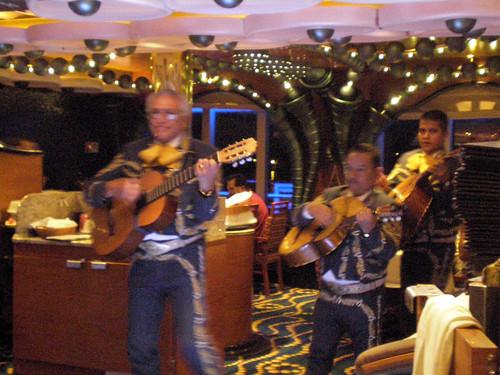 Puerto Vallarta Mariachi Band, Black Pearl Dining Room (Carnival Splendor)