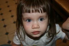 big-eyed girl
