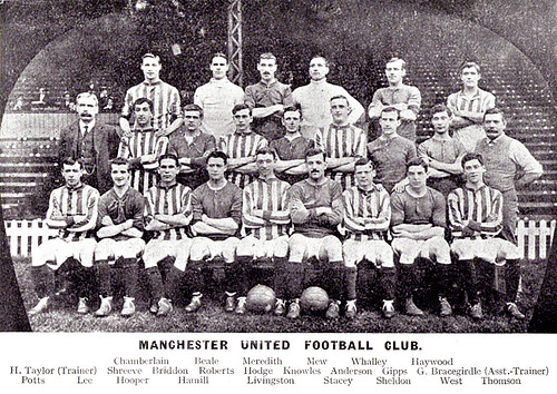 Manchester United 1913-14 team photograph