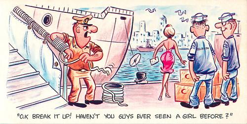 Flickriver Photoset Crest Craft Naval Cartoon Postcards