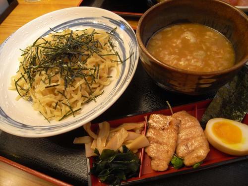 鮪 横綱亭「まぐろラーメン つけ麺」