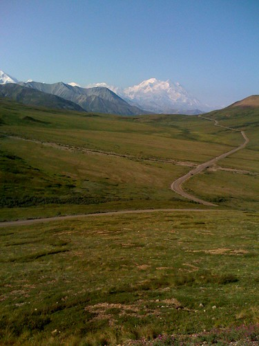 Look, Mt. McKinley!