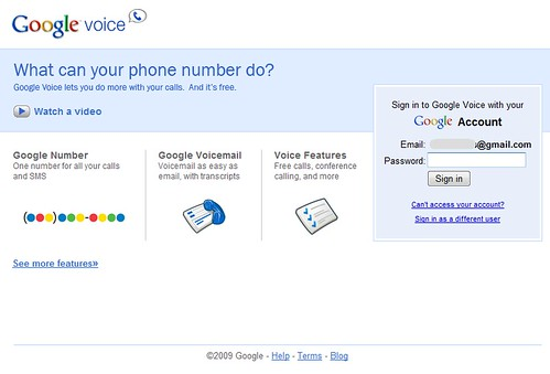 Google Voice Invite 2