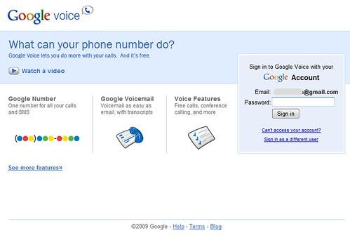 Google Voice Invite 2