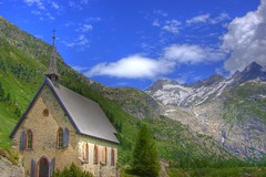 church (twicepix) Tags: church nature wasser natur kirche berge gletscher eis hdr zunge panorma furka photomatix morne klimaerwrmung gletscherschwund