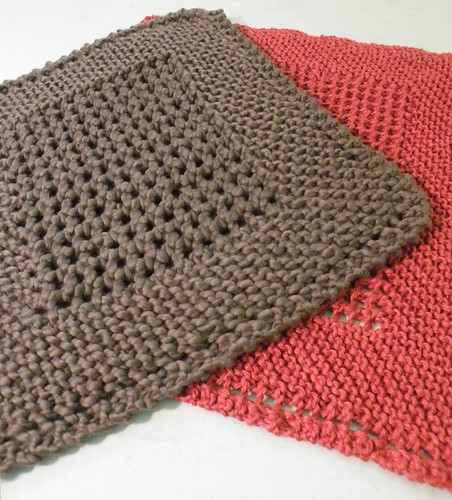 Dishcloth Knitting Pattern : DISHCLOTH PATTERNS KNITTED