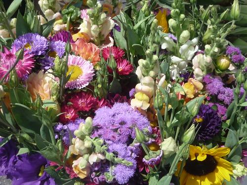 garden flowers farmers market